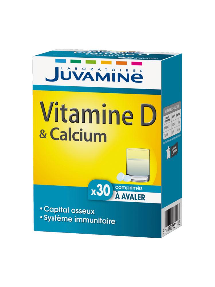 aliment vitamine d et calcium