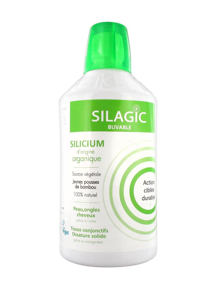 b3eb6bfbfe8a Silagic Silicium Organique Source Végétale 1 Litre - Acheter à prix ...