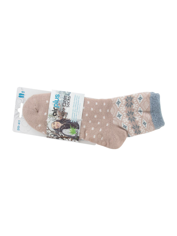 design intemporel 6c770 670f3 Airplus Aloe Cabin Chaussettes Hydratantes