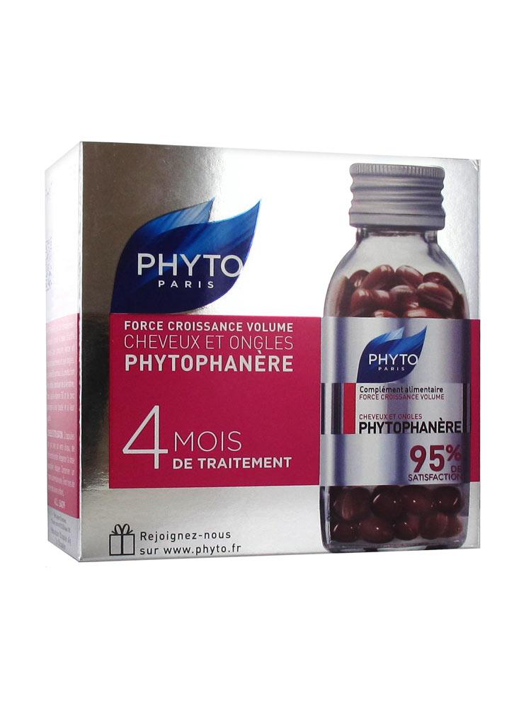 Phyto Phytophanère Cheveux et Ongles 4 Mois de Traitement ...