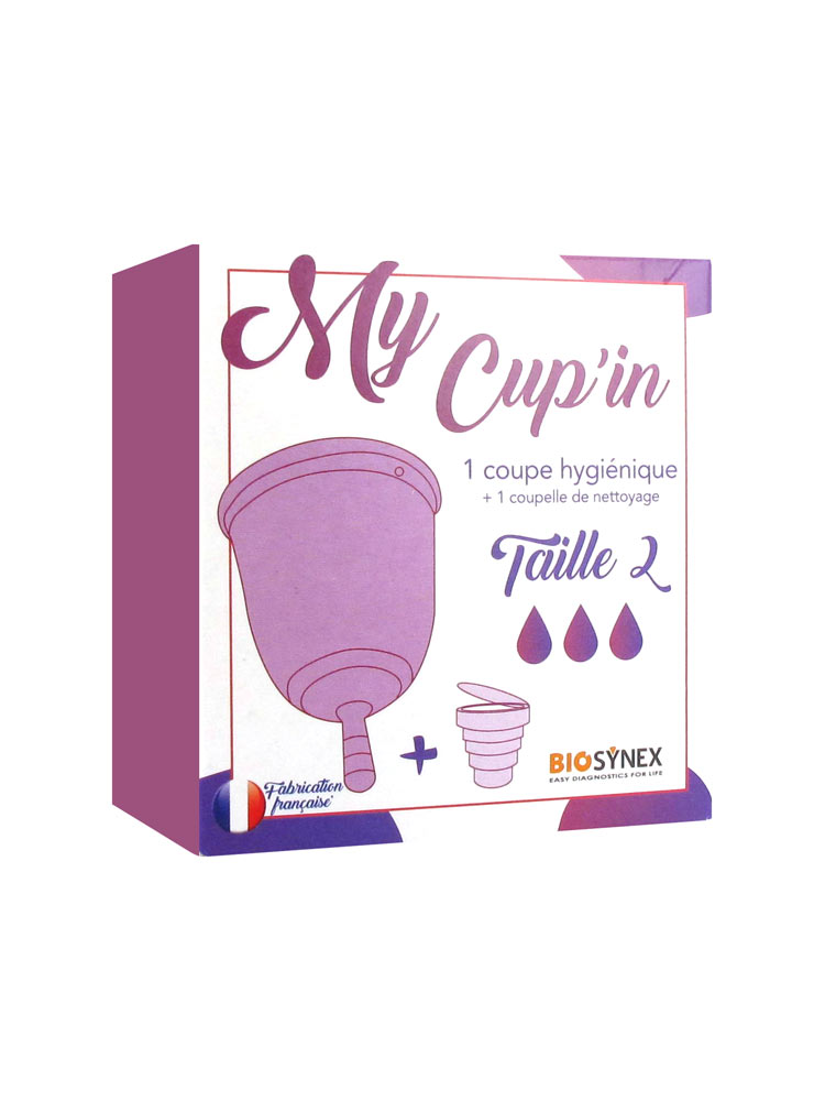 310e1a043a Biosynex My Cup'in Menstrual Cup Size 2
