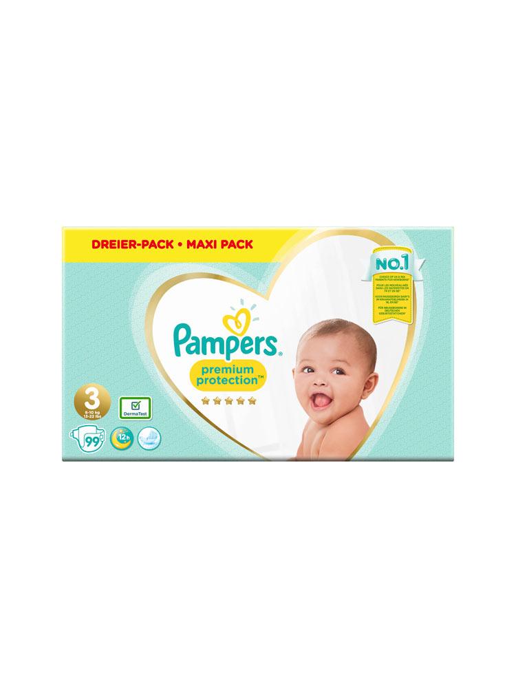 Pampers Premium Protection Windeln Gr 3 99 Windeln