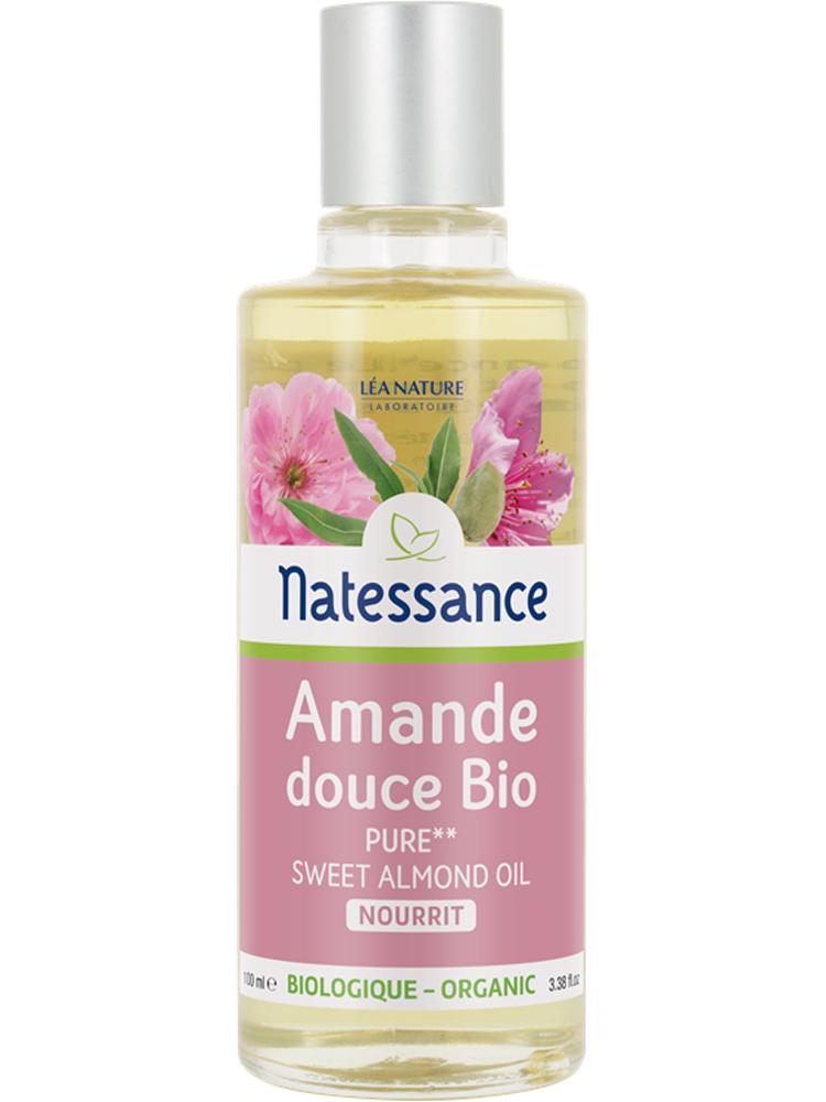Natessance Organic Sweet Almond Oil 100ml