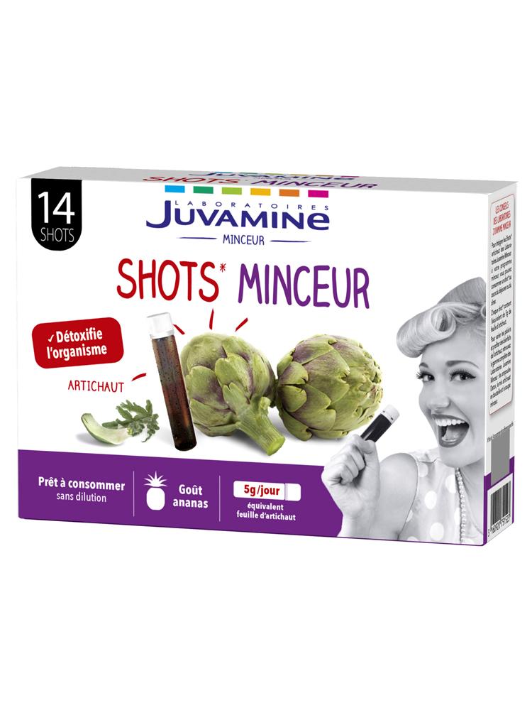 Juvamine Artichaut 14 Shots Minceur