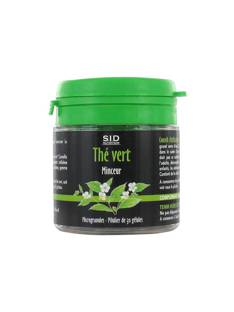 S I D Nutrition Té Verde Para Adelgazar 30 Cápsulas