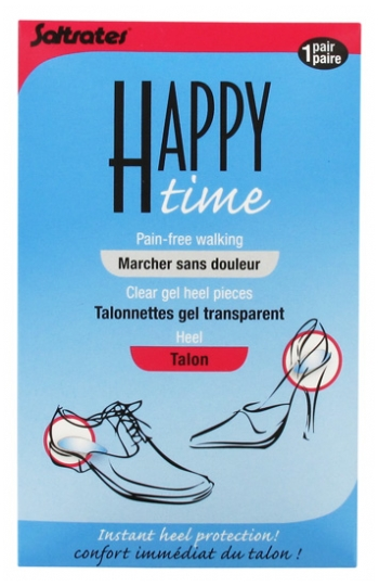 Talonnettes Gel Transparent Saltrates Happy Time Talon