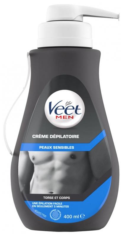 Veet Men Depilatory Cream Sensitive Skins 400ml