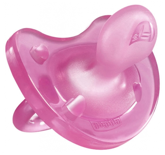 CHICCO Silicone Physio Soft Soother Baby Dummy 0-6m Orthodontically correct