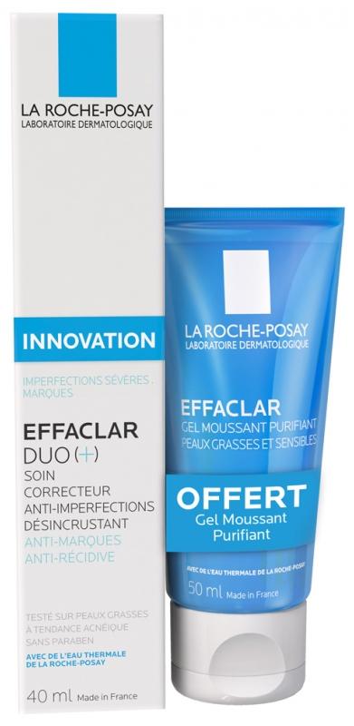 La RochePosay Effaclar Duo ingredients
