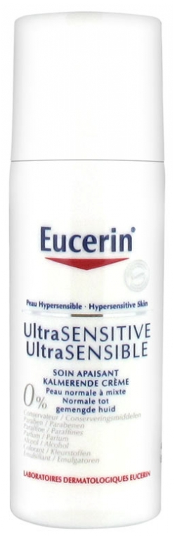 Eucerin Ultra Sensitive Normal To Combination Skin Soothing Care 50ml