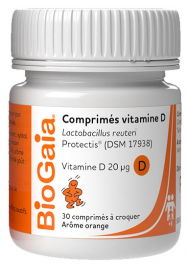 Biogaia Vitamin D 30 Tablets