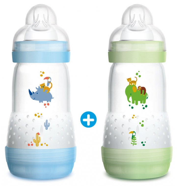MAM Bottle /& Teat Bottle-Brush Blue Colour