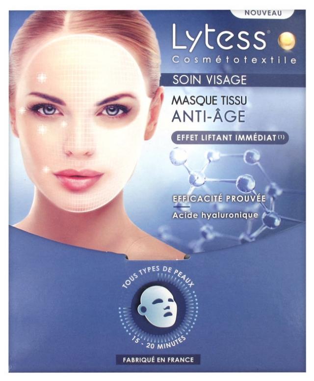 masque anti age visage
