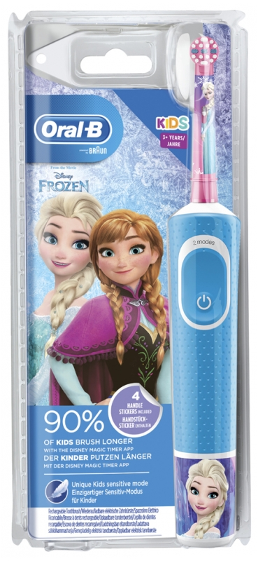 Oral B Kids Rechargeable Electric Toothbrush for children aged 3 and over Model: Frozen
