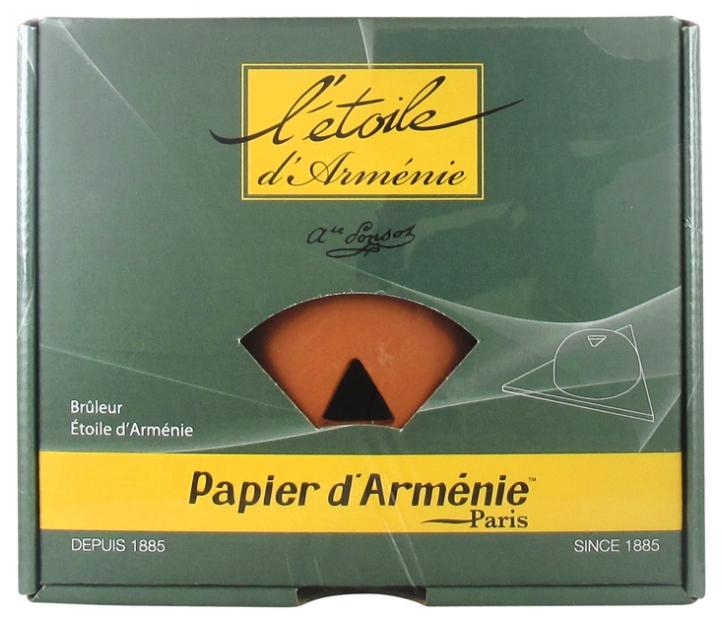 Papier D Armenie Burner Colour Terracotta