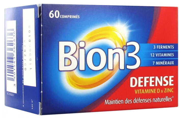 Bion 3 Defense 60 Tablets