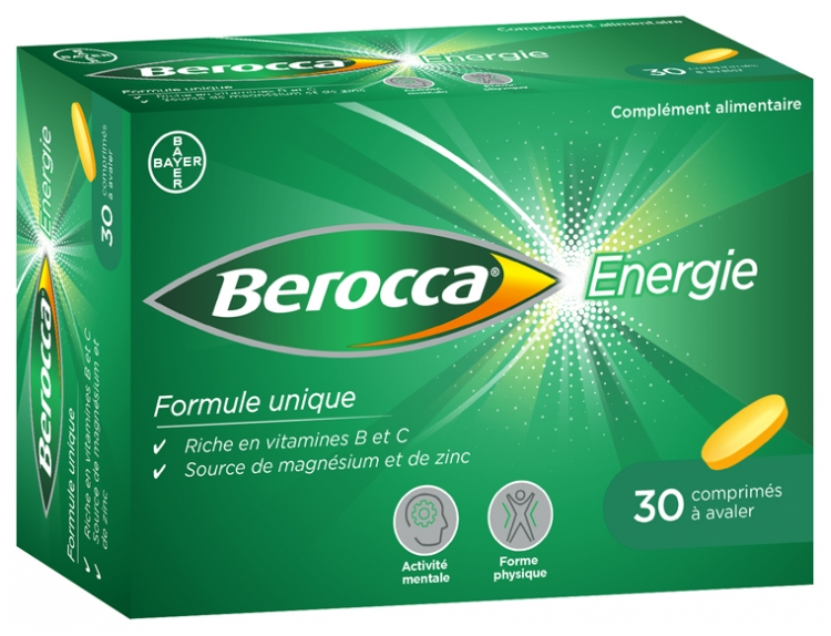 Berocca Energy 30 Tablets to be Swallowed