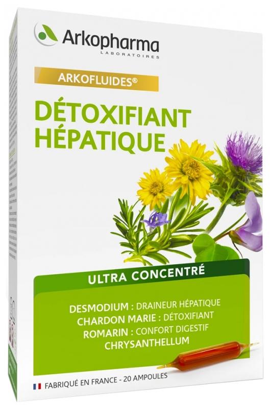 detoxifiant hepatique arkopharma avis